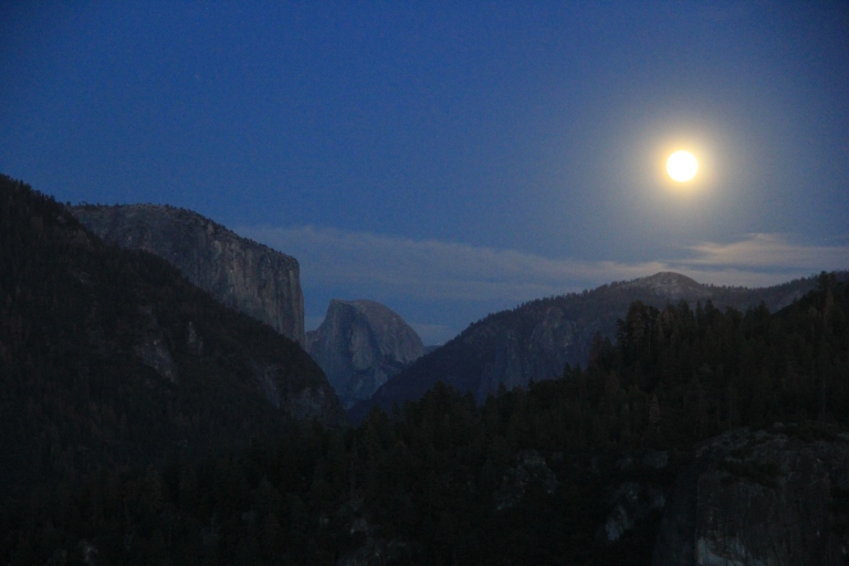 El Cap + Moon + Half Dome = Ultimate Epicness